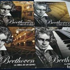 CDs de Música: CD X 4 CDS CARTON ( BEETHOVEN ) NAXOS - DISCOS NUEVOS CARTON UN POCO ROZADO EN ESQUINAS. Lote 219431477