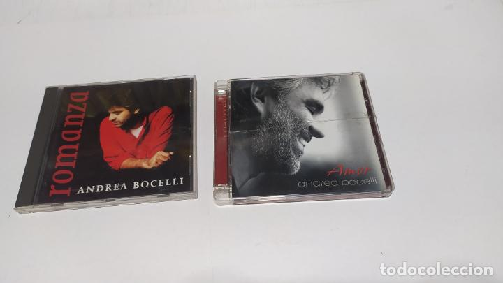 ANDREA BOCELLI LOTE 2 CD´S BUEN ESTADO (Música - CD's Melódica )
