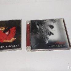 CDs de Música: ANDREA BOCELLI LOTE 2 CD´S BUEN ESTADO. Lote 219431883