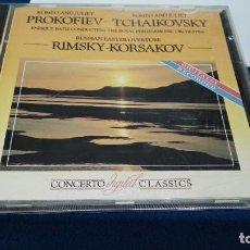 CDs de Música: CD ( PROKOFIEV TCHAIKOSVSKY - RIMSKY KORSAKOV ) 1987 ENTERPRISES. Lote 219433437