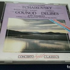 CDs de Música: CD ( TCHAIKOSVSKY - THE NUTCRACKER ) 1987 ENTERPRISES. Lote 219433670
