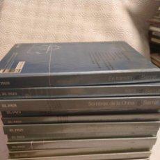 CDs de Música: SERRAT. PALABRAS HECHAS CANCIONES. LOTE DE 12 LIBRO CD COMPACTOS. 2600 GRAMOS. JOAN MANUEL SERRAT.... Lote 219439223