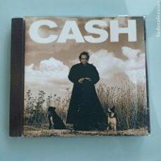 CDs de Musique: JOHNNY CASH – AMERICAN RECORDINGS (AMERICAN RECORDINGS – 9 45520-2, US,1994). Lote 219458683