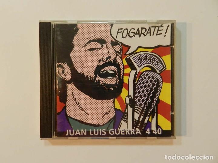 DISCO CD. JUAN LUIS GUERRA Y 440 - FOGARATÉ!. COMPACT DISC. (Música - CD's Latina)