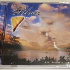 CDs de Música: OCARINA / SILVER / THE BEST LOVE MUSIC OF PAN FLUTE / CD - MUSIC TUPAC / PRECINTADO.. Lote 219495593