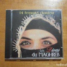 CDs de Música: 14 FEMMES CHANTENT - LES DIVAS DU MAGHREB. Lote 219533008
