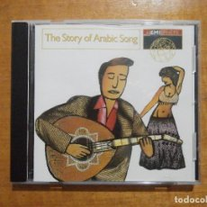 CDs de Música: THE STORY OF ARABIC SONG. Lote 219534175