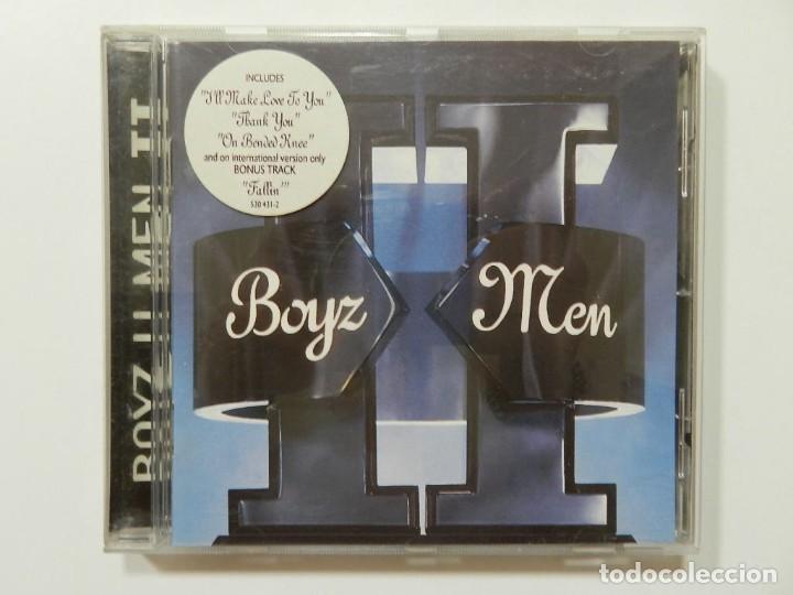 DISCO CD. BOYZ II MEN - EVOLUTION. COMPACT DISC. (Música - CD's Hip hop)