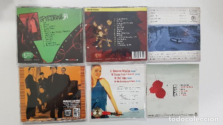 CDs de Música: Lote 6 CD Surf Music Bélgica. FIFTY FOOT COMBO VENTURAS SPEEDBAL JR AKULAS PIRATO KETCHUP - Foto 2 - 219594753