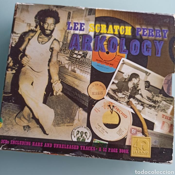 LEE SCRATCH PERRY - ARKOLOGY (ISLAND JAMAICA, 3 X CD, EUROPE, 1997) (Música - CD's Reggae)