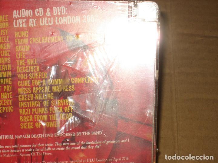CDs de Música: (SIN ABRIR) NAPALM DEATH - Punishment In Capitals (CD + DVD) ________ CDVILED293X) - Foto 3 - 219628546