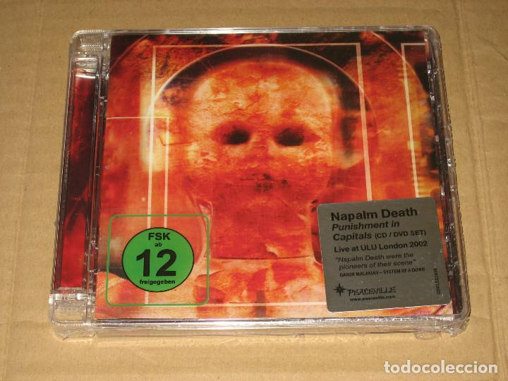 (SIN ABRIR) NAPALM DEATH - PUNISHMENT IN CAPITALS (CD + DVD) ________ CDVILED293X) (Música - CD's Heavy Metal)