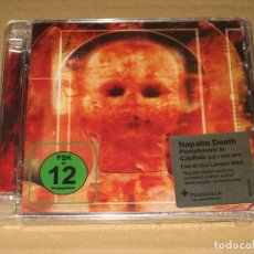 CDs de Música: (SIN ABRIR) NAPALM DEATH - PUNISHMENT IN CAPITALS (CD + DVD) ________ CDVILED293X). Lote 219628546