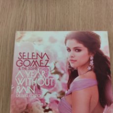 CDs de Música: SELENA GÓMEZ & THE SCENE CD+DVD A YEAR WITHOUT RAIN SPECIAL EDITION. Lote 219699788