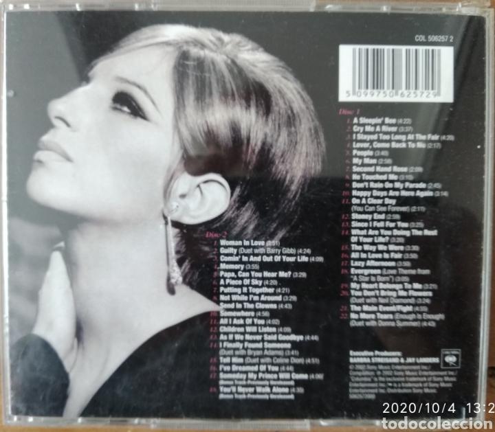 CDs de Música: Barbra Streisand, The Essencial. 2 cds - Foto 2 - 219702797