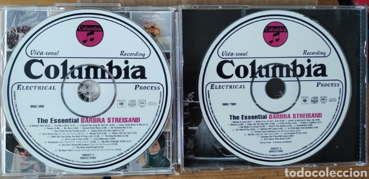 CDs de Música: Barbra Streisand, The Essencial. 2 cds - Foto 3 - 219702797