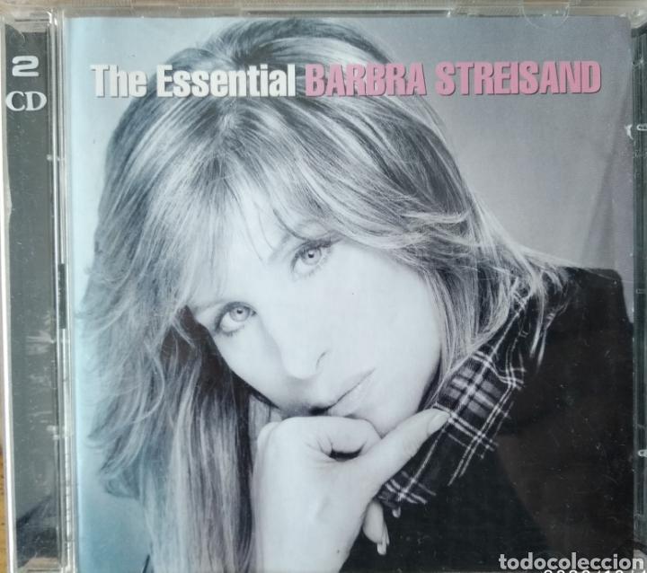 BARBRA STREISAND, THE ESSENCIAL. 2 CD'S (Música - CD's Melódica )
