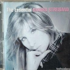 CDs de Música: BARBRA STREISAND, THE ESSENCIAL. 2 CD'S. Lote 219702797
