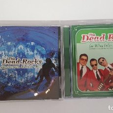 CDs de Música: LOTE 2 CDS THE DEAD ROCKS. BANDA GARAGE ROCK SURF MUSIC INSTRUMENTAL DE BRASIL. SURF MUSIC MADRID. Lote 219713365