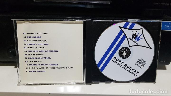 CDs de Música: LOTE 2 CDs BURT ROCKET. Garage rock surf instrumental Noruega. Surf Music Madrid - Foto 3 - 219716472