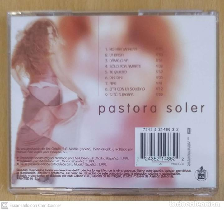 CDs de Música: PASTORA SOLER (FUENTE DE LUNA) CD 1999 - Foto 2 - 219730031
