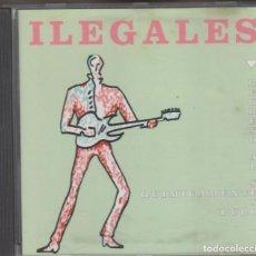 CDs de Musique: ILEGALES CD REGRESO AL SEXO QUÍMICAMENTE PURO 1992. Lote 219766676