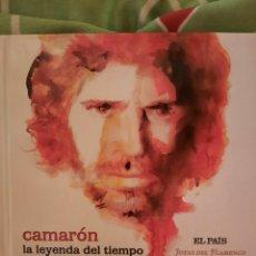 CDs de Música: CAMARÓN DE LA ISLA. LA LEYENDA DEL TIEMPO. EL PAÍS. CD.. Lote 219803658