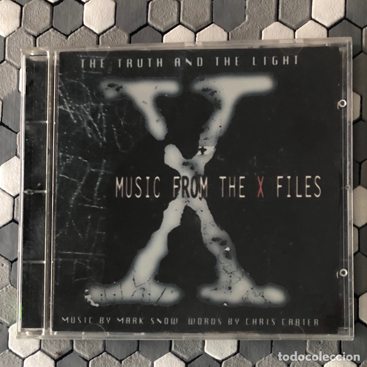 MARK SNOW ?– THE TRUTH AND THE LIGHT: MUSIC FROM THE X FILES (Música - CD's New age)