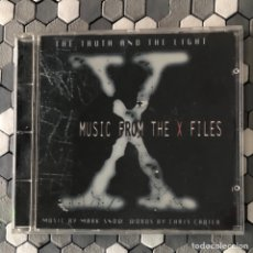 CDs de Música: MARK SNOW ?– THE TRUTH AND THE LIGHT: MUSIC FROM THE X FILES. Lote 219821425