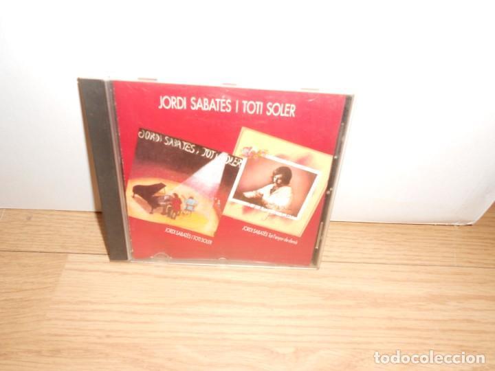 JORDI SABATE I TOTI SOLER + JORDI SABATE - TOT LENYOR DE DEMA (Música - CD's Jazz, Blues, Soul y Gospel)