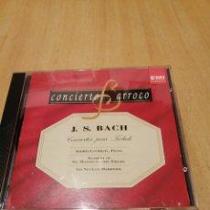 CDs de Música: J. S. BARROCO. CONCIERTOS PARA TECLADO. ANDREI GAVRILOV. ACADEMY ST MARTIN IN FIELDS. SIR N. MARINER. Lote 219846408