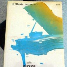 CDs de Música: CD LE MONDE DU PIANO GUIOMAR NOVAES PIANO. Lote 219866521