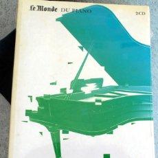 CDs de Música: LE MONDE DU PIANO WILHELM BACKHAUS CD. Lote 219867172