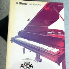 CDs de Música: LE MONDE DU PIANO GEZA ANDA ANNIE FISCHER CD. Lote 219873306