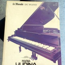 CDs de Música: LE MONDE DU PIANO MARIA YUDINA VLADIMIR SOFRONITZKI CD. Lote 219873760