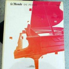 CDs de Música: LE MONDE DU PIANO ALFRED CORTOT CD PIANO CHOPIN. Lote 219874107