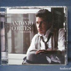 CD di Musica: ANTONIO CORTÉS - CUANDO QUIERAS ... - CD. Lote 219875571