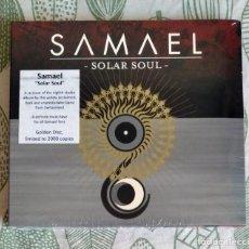 CDs de Música: SAMAEL - SOLAR SOUL CD DIGIPAK NUEVO Y PRECINTADO - METAL INDUSTRIAL SYMPHONIC METAL. Lote 219879512