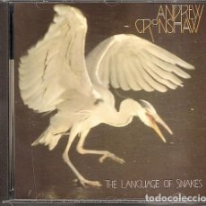 CDs de Música: ANDREW CRONSHAW - THE LANGUAGE OF SNAKES (CD, SONIFOLK 1993). Lote 243878235