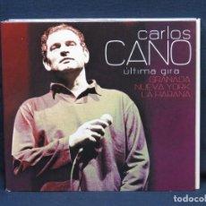 CD di Musica: CARLOS CANO - ULTIMA GIRA GRANADA, NUEVA YORK , LA HABANA - CD. Lote 219881173