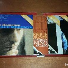 CDs de Música: PACK CON 6 CDS Y LIBRETO. ENRIQUE MORENTE. Y AL VOLVER LA VISTA ATRÁS. EDICION DE 2015. RARA. DANI.. Lote 219974938