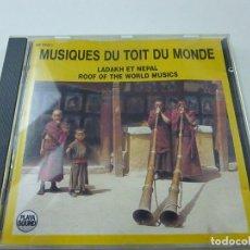 CDs de Música: LADAKH ET NEPAL - ROOF OF THE WORLD MUSICS - CD - C 1. Lote 219983840