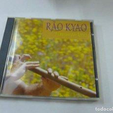 CDs de Música: RAO KYAO. FLAUTAS DA TERRA - CD - C 1. Lote 219985700