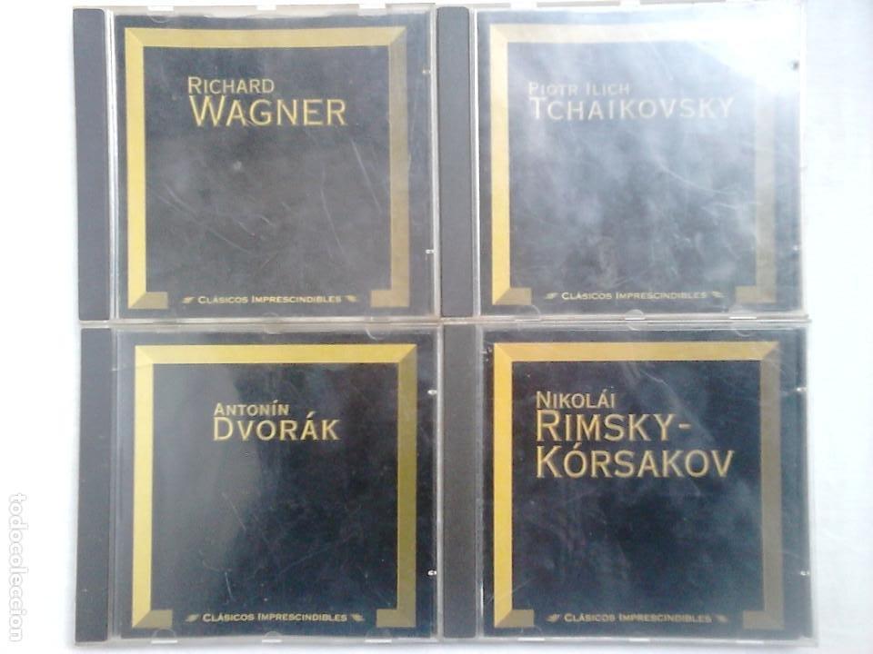 LOTE CD MÚSICA CLÁSICA: DVORÁK, RIMSKY-KÓRSAKOV, TCHAIKOVSKY, WAGNER (Música - CD's Clásica, Ópera, Zarzuela y Marchas)