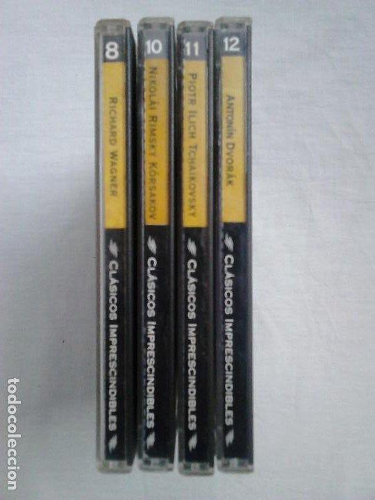 CDs de Música: Lote CD música clásica: Dvorák, Rimsky-Kórsakov, Tchaikovsky, Wagner - Foto 2 - 107060443