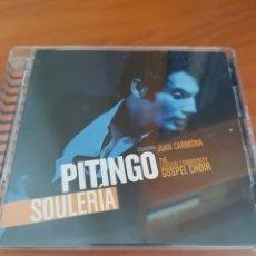 CDs de Música: CD+DVD PITINGO. SOULERIA. Lote 220191112