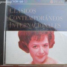 CDs de Música: CLASICO CONTEMPORANEOS INTERNACIONALES AÑOS 60 CD Nº XI. Lote 220192385