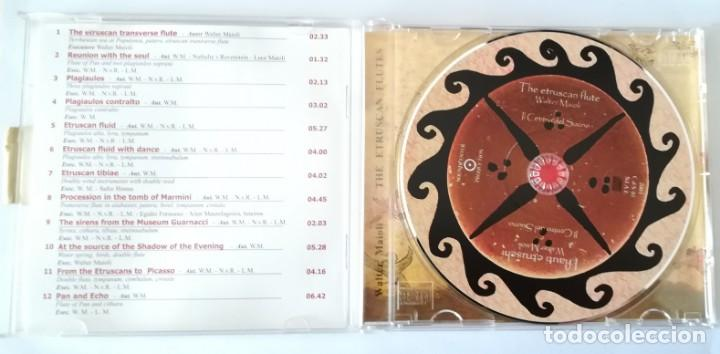 CDs de Música: Walter Maioli CD + libreta - THE ETRUSCAN FLUTE - NEW & SEALED. - Foto 4 - 220246538