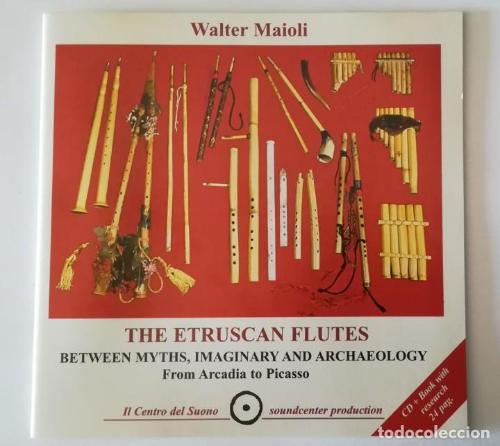 CDs de Música: Walter Maioli CD + libreta - THE ETRUSCAN FLUTE - NEW & SEALED. - Foto 5 - 220246538