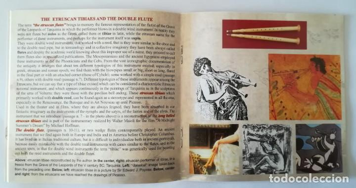 CDs de Música: Walter Maioli CD + libreta - THE ETRUSCAN FLUTE - NEW & SEALED. - Foto 8 - 220246538